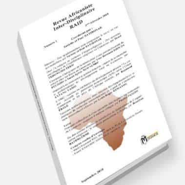 Revue Africaniste Inter-Disciplinaire RAID 1